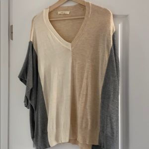 Oversized dolman 3/4 sleeve sweater from Vici